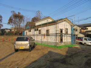 木造住宅、在来工法、千葉県習志野市鷺沼のK様邸、建築現場、建築現場写真|千葉県、習志野市での新築工事、注文建築は地域密着の大栄工務店にお任せください。