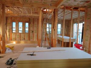 安い建築|千葉県習志野市鷺沼のK様邸、建築現場、建築現場写真|千葉県、習志野市での新築工事、注文建築は地域密着の大栄工務店にお任せください。