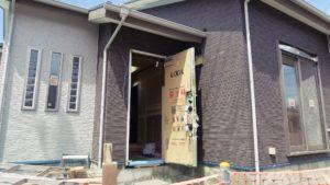 安いけど、外壁14㎜で質感・高級感がある外観を建築いたします。大栄工務店。